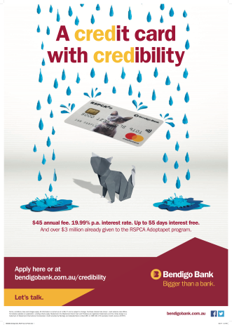BEB0009_Bendigo Bank_RSCPA Cat_A2 Poster
